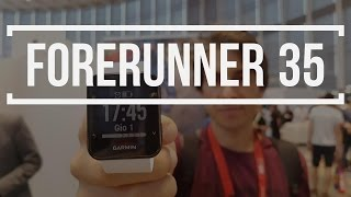 Garmin Forerunner 35 sportwatch GPS | Anteprima IFA 2016