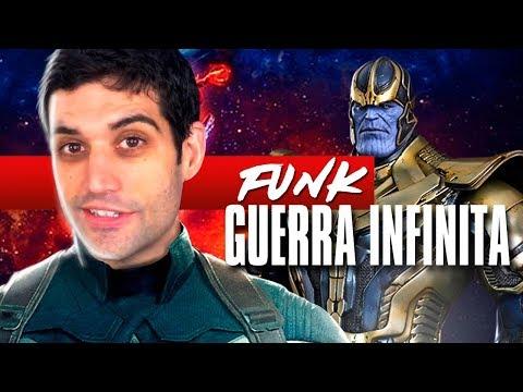 Funk dos Vingadores Guerra Infinita, MC MAHA glorioso