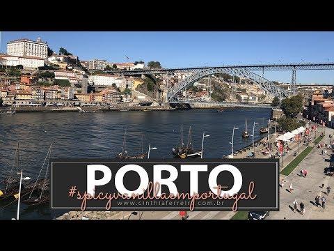 Porto e Vila Nova de Gaia e mais um passeio por Portugal | #SpicyVanillaEmPortugal