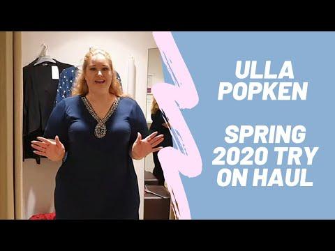 Ulla Popken Try On Haul - inside the dressing room spring 2020