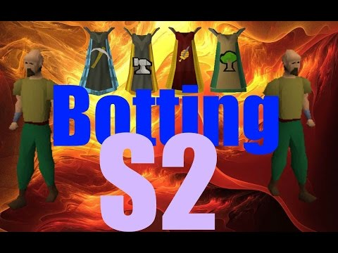 OSRS Botting To Max Stats S2 Ep2