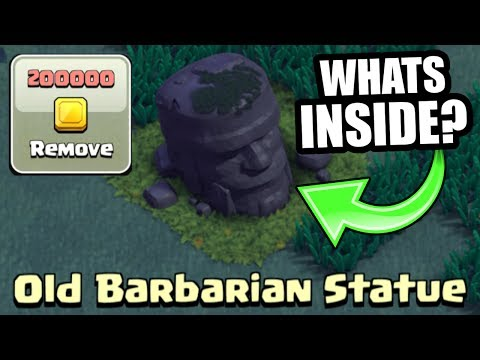 Thumbnail: WHAT HAPPENS IF YOU REMOVE THE BARBARIAN STATUE IN CLASH OF CLANS BUILDERS VILLAGE!?