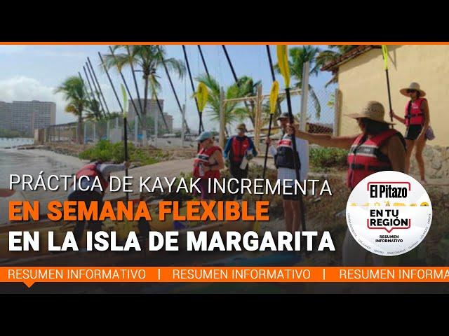 El Pitazo en tu región | Paseos en Kayak: una navegación entre la naturaleza de la Isla de Margarita