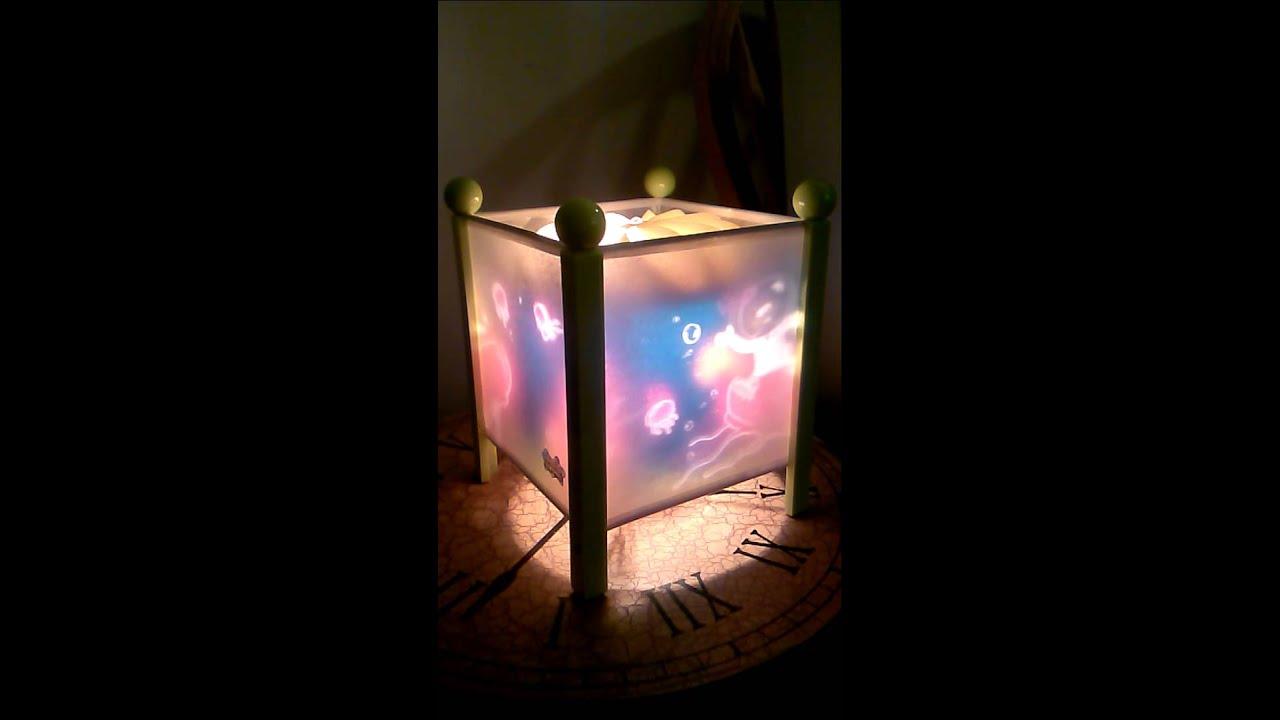 Spongebob lamp - YouTube