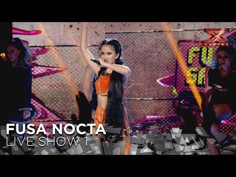 Fusa Nocta deja a sus rivales 'En la ruina' con su tema original | Directos 1 | Factor X 2018