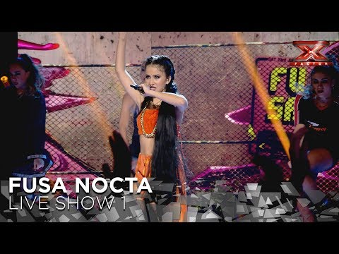 Fusa Nocta shows she's the trap queen | Live Show 1 | The X Factor 2018