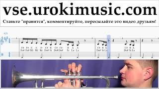 Как играть на трубе Drake - God's Plan Табы um-i821