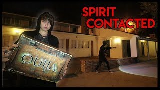 Ouija Board at Shadow Ranch Park.. (freaky)
