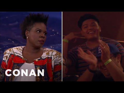Leslie Jones Finds Love In the CONAN Audience  - CONAN on TBS