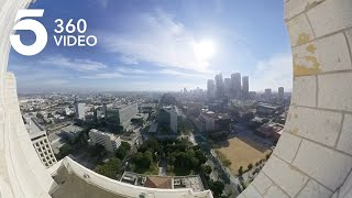 Los Angeles in 360 From City Hall's Observation Deck