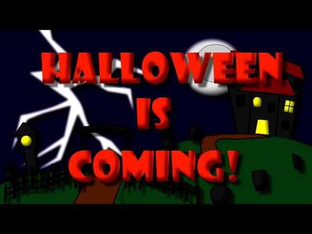 Halloween for kids. Halloween vocabulary.