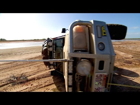 Literally anything that can go wrong here with this 4WD recovery does go wrong