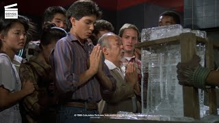 The Karate Kid Part II: Breaking the ice