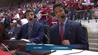 Sam Neidermann: Basketball TV Play-by-Play Demo - Indiana vs. Purdue