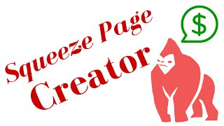 Squeeze Page Creator - Create Professional Looking Pages