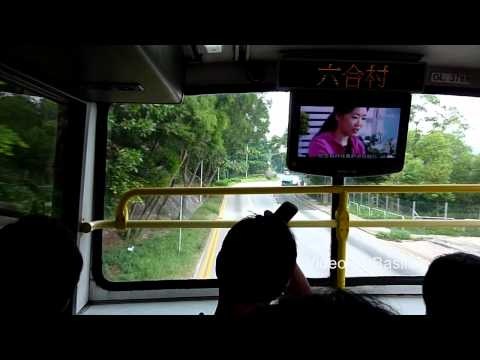 KMB Bus AV103 @ 81 九龍巴士 Volvo Olympian 石梨貝水塘-大圍