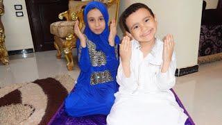 How to pray تعليم الصلاة للاطفال مع مريومة