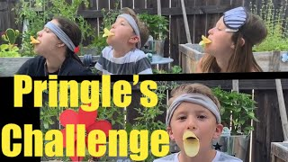 Pringle's Chellenge! Moms try at end. Which flavors which?