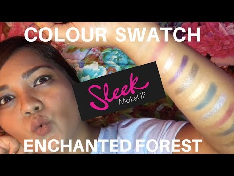 REVIEW + SWATCH – SLEEK MAKEUP ENCHANTED FOREST