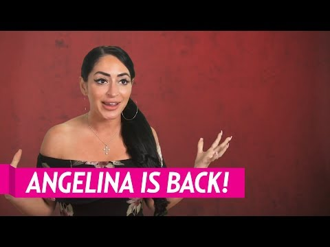 Angelina Pivarknick Talks Returning to the 'Jersey Shore'