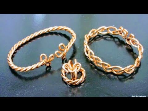 Jewelry from Electrical Wire DIY Gifts