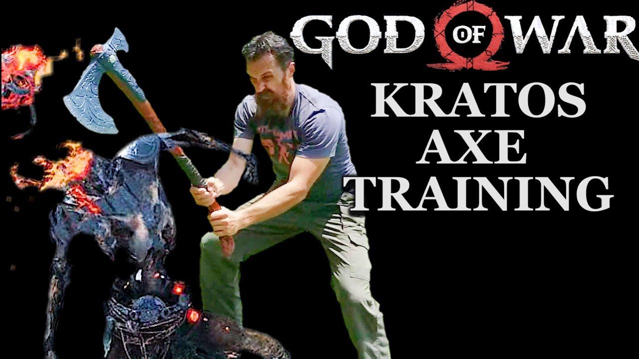 God Of War Training Neca Kratos Axe First Impressions