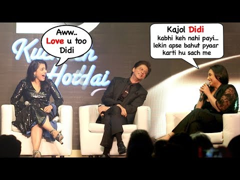 Rani Mukherjee Calls Kajol Didi (Sister) & Ends FIGHT @Kuch Kuch Hota Hai 20 yrs Celebration Mp3