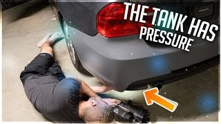 THE 335I HAS SOME SERIOUS FUEL TANK ISSUES!