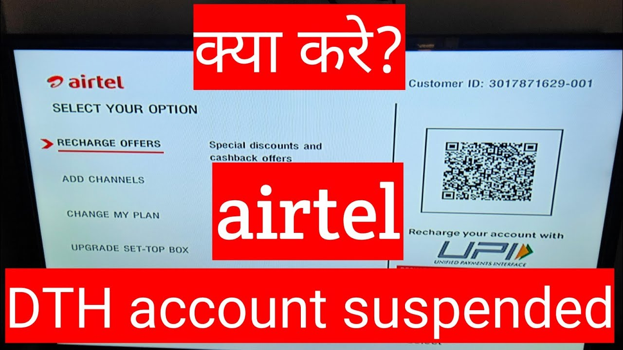 airtel dth recharge through hdfc credit card
