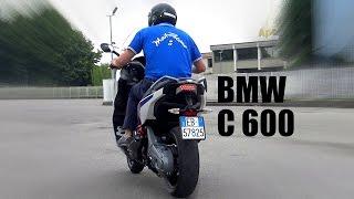 TEST BMW C600 Sport TOP SPEED & 0/180 Km/h in 24 seconds