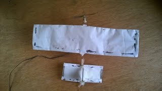 How to Make a Plane With Dc Motor,at Home That Flies