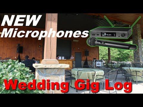 new-wireless-mics-|-outdoor-wedding-in-the-mountains-|-dj-gig-log-102-(audio-technica-3000-4th-gen)