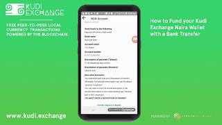 How to Fund your NGN Wallet with Bank Transfer on Kudi Exchange