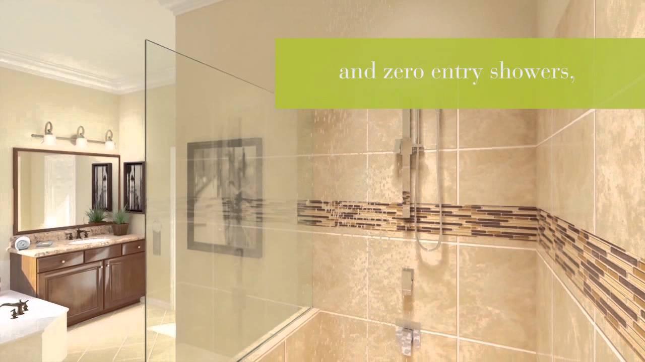 Inspired Designs By Del Webb Master Bath YouTube - Webb bathroom design
