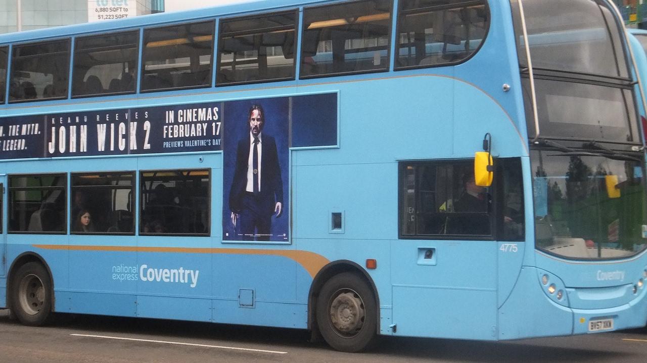 National Express Coventry 4775 Enviro 400 Trident Semi