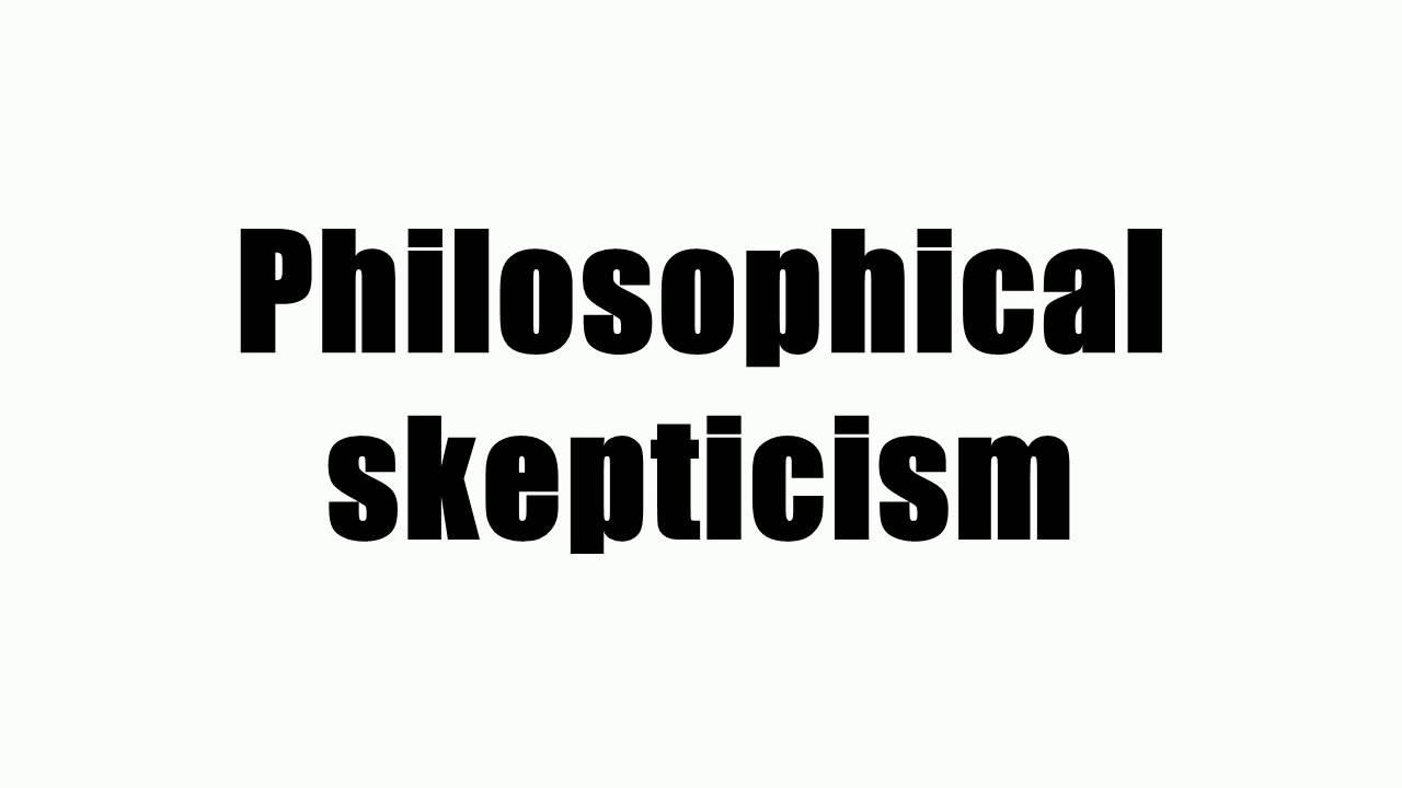 skepticism article