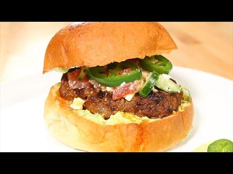 Beef & Chorizo Burger