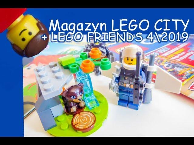 Magazyny Lego City I Lego Friends 42019 Youtube