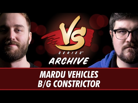 2/17/2017 - Ross VS. Brad: Mardu Vehicles vs B/G Constrictor [Standard]
