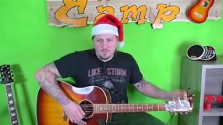 Gitarre lernen - Schneeflöckchen Weißröckchen - Weihnachtslieder für Anfänger und Kinder