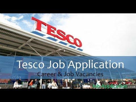 Tesco Job Application Process 2018 Youtube