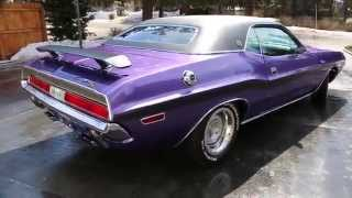 ~~SOLD~~1970 Dodge Challenger RT/SE For Sale~440/6 Pack~Pistol Grip 4 Speed~Like Brand New!