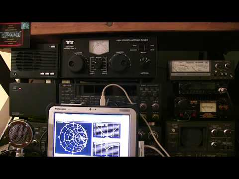 #264: RF Fun: Visualize antenna tuner operation on Smith Chart, SWR & more with VNA