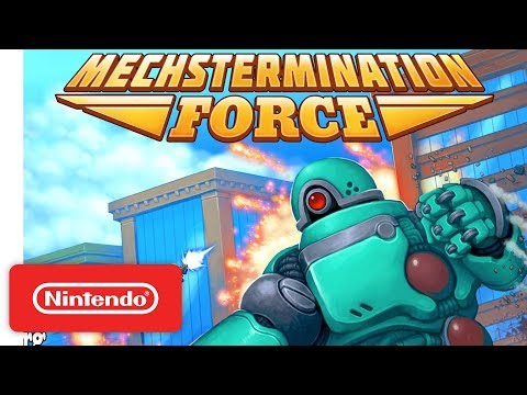 The RetroBeat: Mechstermination Force combines Contra with Shadow of the Colossus