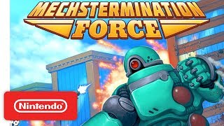 Mechstermination Force - Announcement Trailer - Nintendo Switch