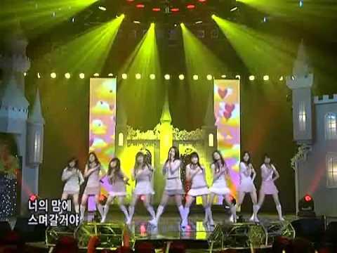 SNSDBaBa소녀시대베이비베이비@SBS Inkigayo 인기가요 20080330