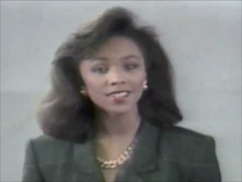 Census '90 commercial with Miss America Debbye Turner - 1989