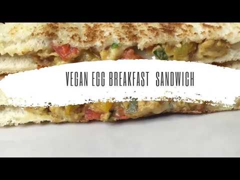 Vegan Egg Breakfast Sandwich | Just Egg | Natural Vegan Mama