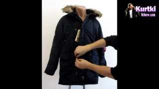 Обзор куртки аляски Alpha industries Slim fit n-3b Parka