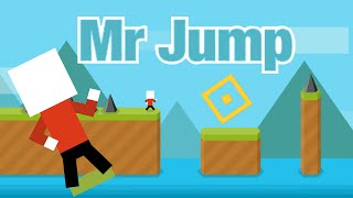 MR JUMP Review | Level 1, 2, 3 Walkthrough - Devilishly hard Jump